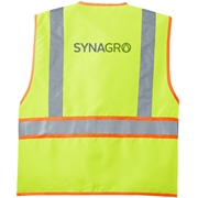 SYNAGRO  Fleece Blanket with Strap