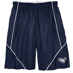 BAHS Tennis Sport-Tek® PosiCharge® Mesh Reversible Spliced Short