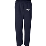 BAHS Tennis Unisex - Dry-Blend Open Bottom Sweatpants