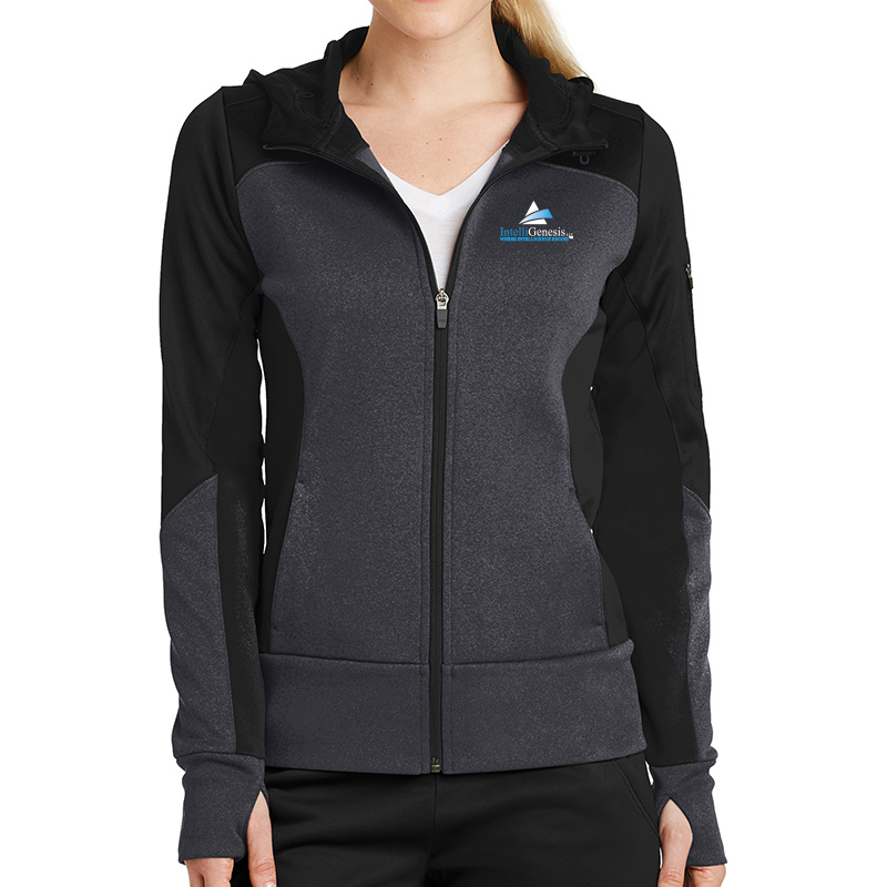 Sport-Tek Mens Full-Zip Hooded Sweatshirt
