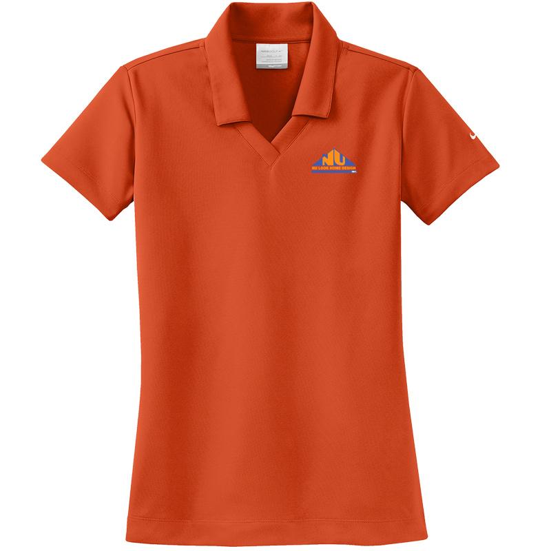 Nu Look Home Design Nike Las Dri Fit Micro Pique Polo Team Orange