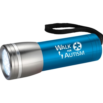 Walk for Autism Flashlight Keychain