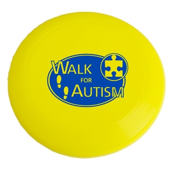 Walk for Autism Frisbee