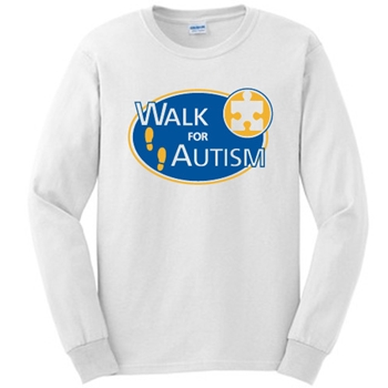 Walk for Autism Long Sleeve Shirt