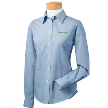 SYNAGRO Ladies' Executive Performance Premium Dress Shirt