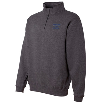 HDS Heavyweight Quarter-Zip Fleece Sweatshirt