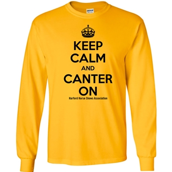 HHSA Canter On Long Sleeve Tees -  Yellow
