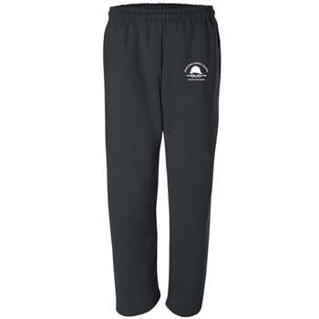 HHSA Open Bottom Sweatpants -  Black