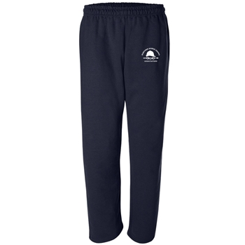 HHSA Open Bottom Sweatpants -  Navy