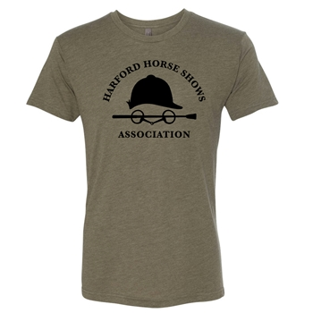HHSA Tri-Blend Short Sleeve Tees - Military Green
