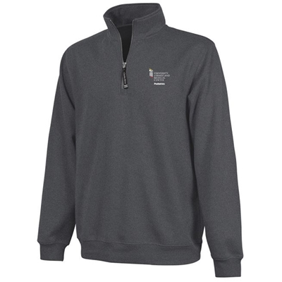 Pediatric Emergency Department Quarter Zip - Dark Grey