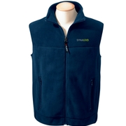 SYNAGRO Men's Polartec® Colorblock Full-Zip Fleece Vest