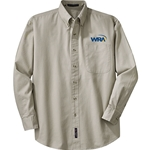 WRA Non-Iron Pinpoint Oxford
