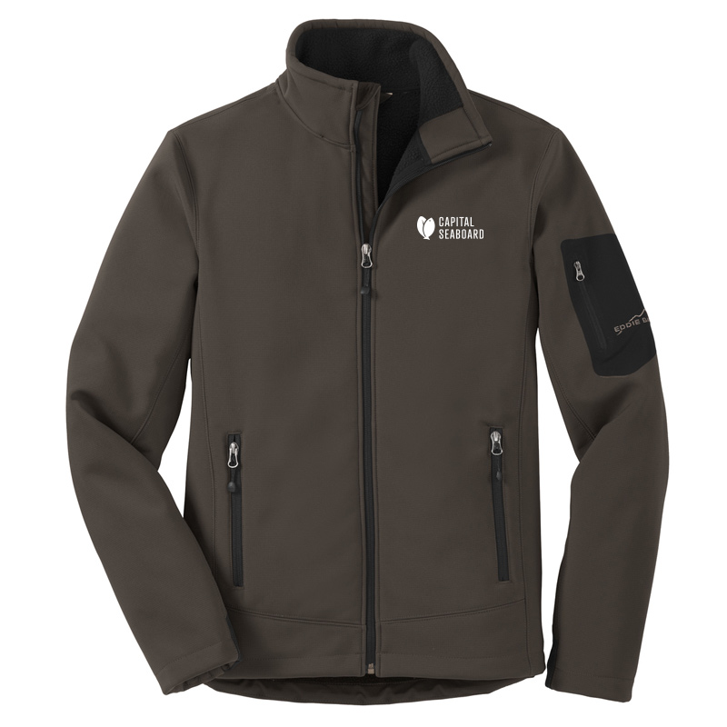 Capital Seaboard Eddie Bauer Ripstop Soft Shell-Canteen