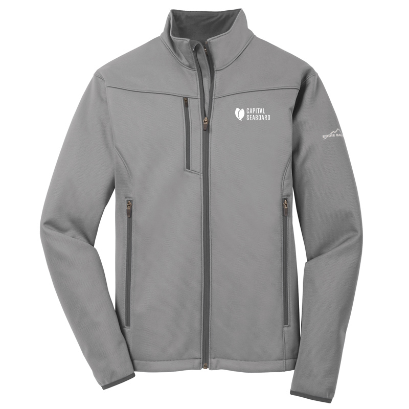 Capital Seaboard Eddie Bauer Weather Resist Soft Shell -Chrome