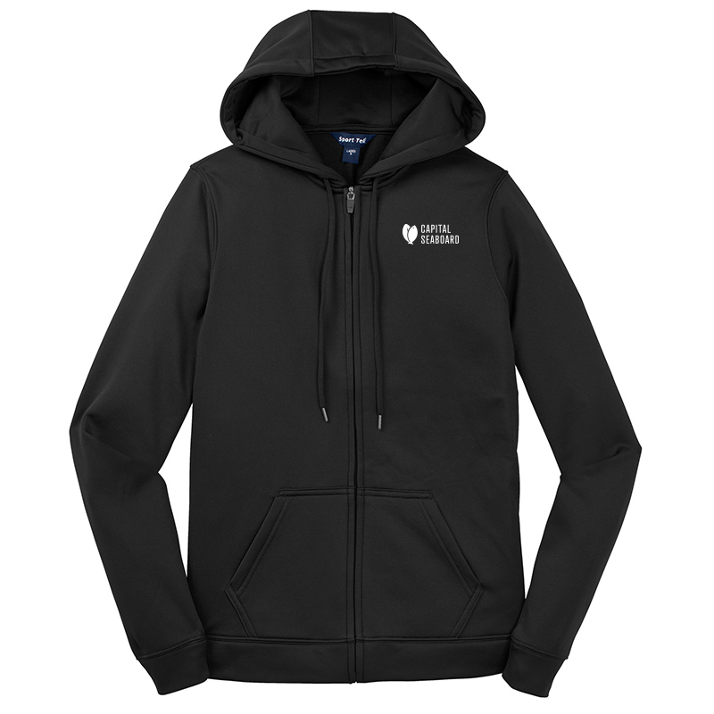 Capital Seaboard Sport Tek Sport Wick Fleece Jackets Womens-Black