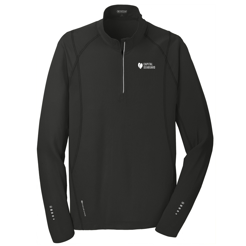 Capital Seaboard Nexus 1/4 Zip Mens-BlackTop