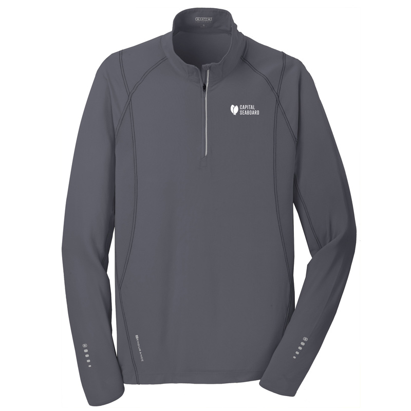 Capital Seaboard Nexus 1/4 Zip Mens-Grey