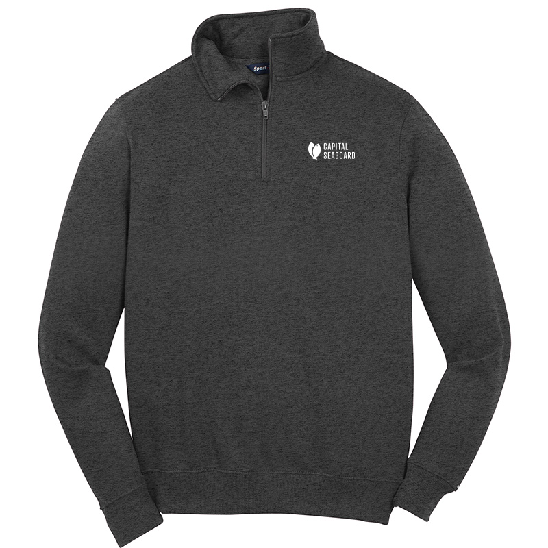 Capital Seaboard Sport Tek 1/4 Zip Sweatshirts-Graphite
