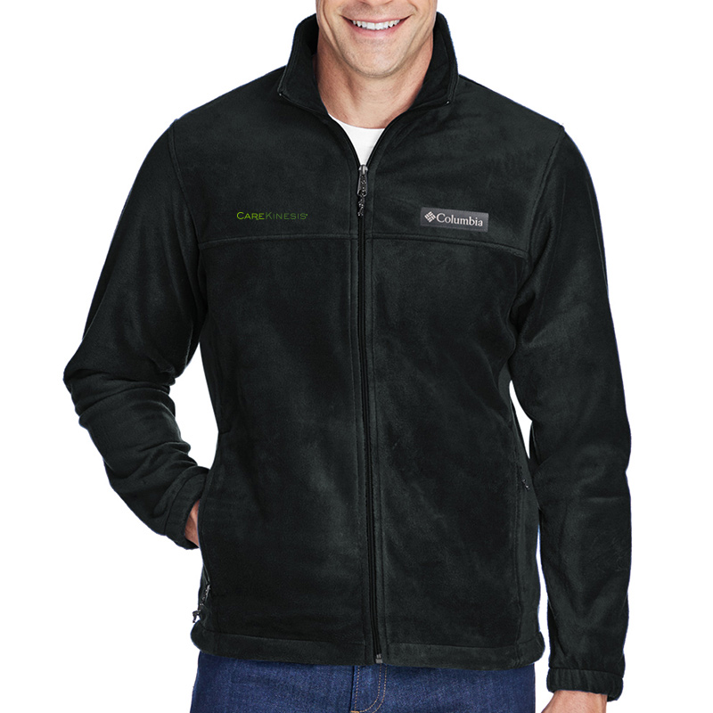CareKinesis Columbia Men's Steens Mountain™ Full-Zip 2.0 Fleece - Black