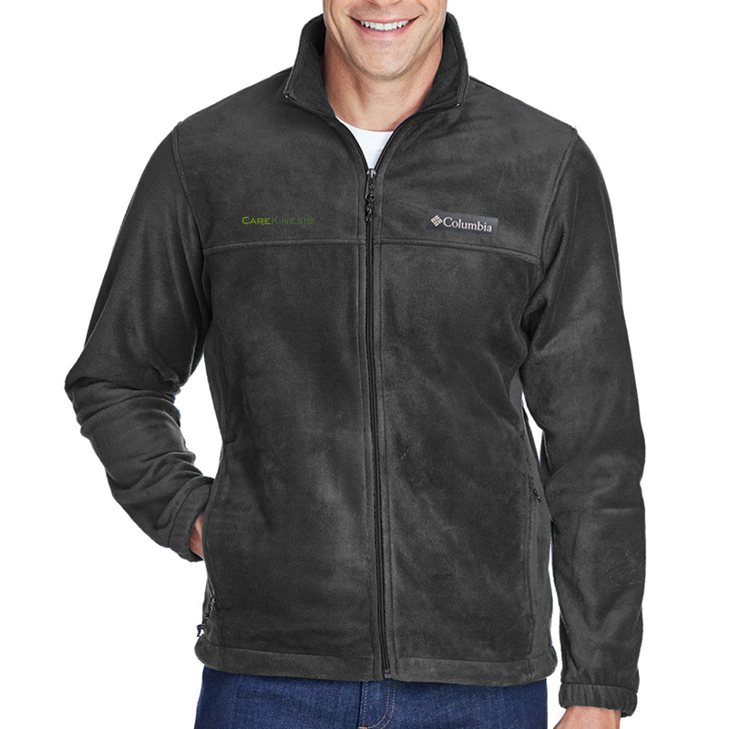 CareKinesis Columbia Men's Steens Mountain™ Full-Zip 2.0 Fleece - CharcoalHeather