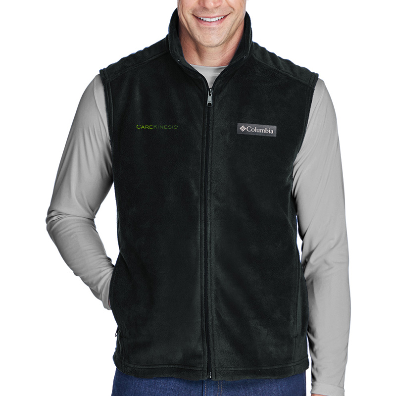 CareKinesis Columbia Men's Steens Mountain™ Vest - Black