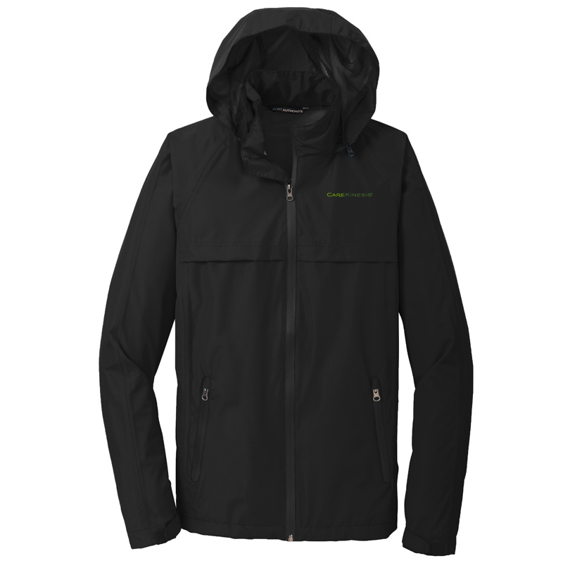 CareKinesis Port Authority® Torrent Waterproof Jacket - Black