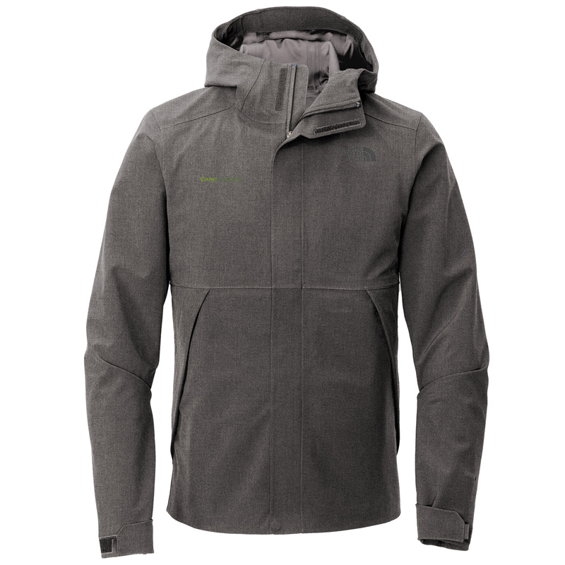 CareKinesis The North Face ® Apex DryVent ™ Jacket - DarkGreyHeather