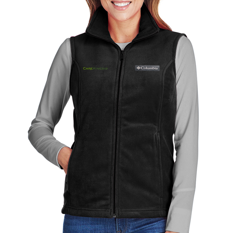 CareKinesis Columbia Ladies' Benton Springs™ Vest - Black