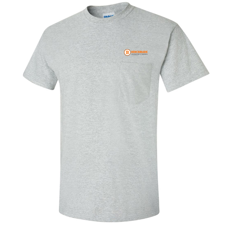 Benchmark Short Sleeve Pocket Tee - Sport Grey