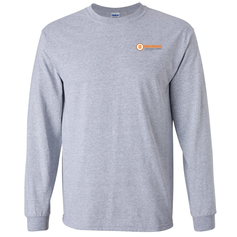 Benchmark ong Sleeve Tee - Sport Grey