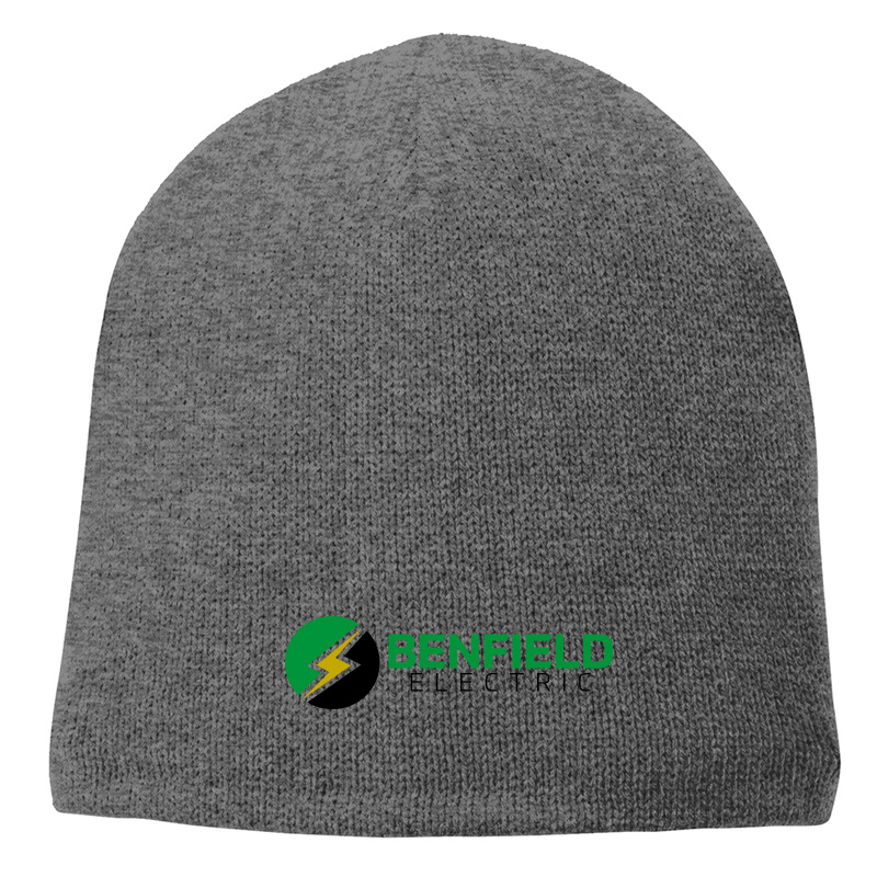 Benfield Electric Fleece-Lined Beanie Cap -Athletic Oxford