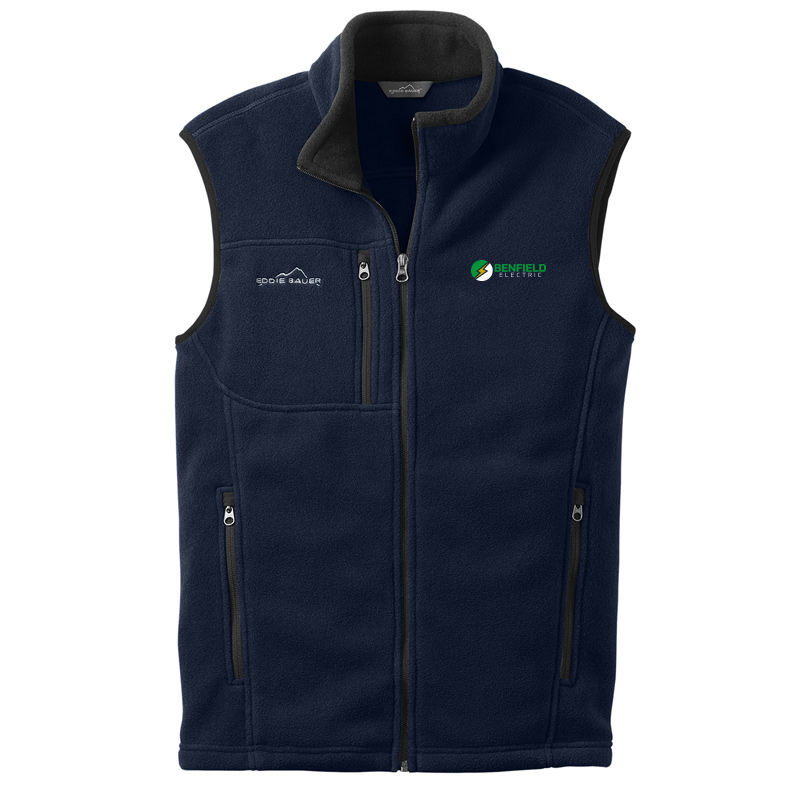 Benfield Electric Fleece Vest -River Blue