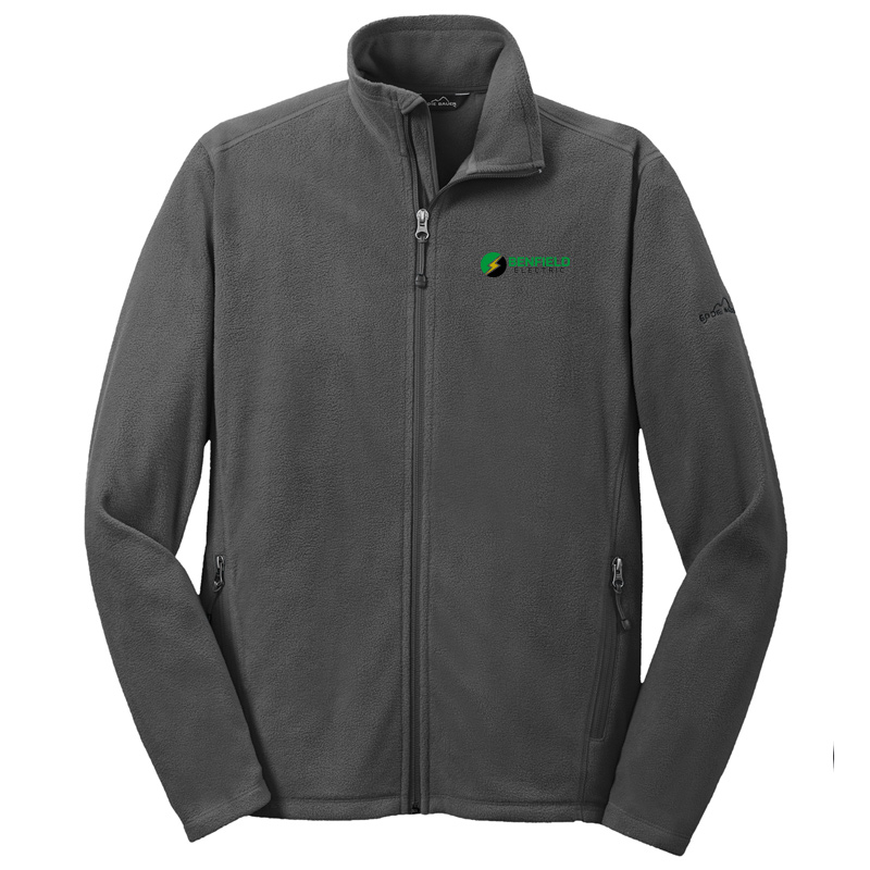 Benfield Electric Full-Zip Microfleece Jacket -Grey Steel