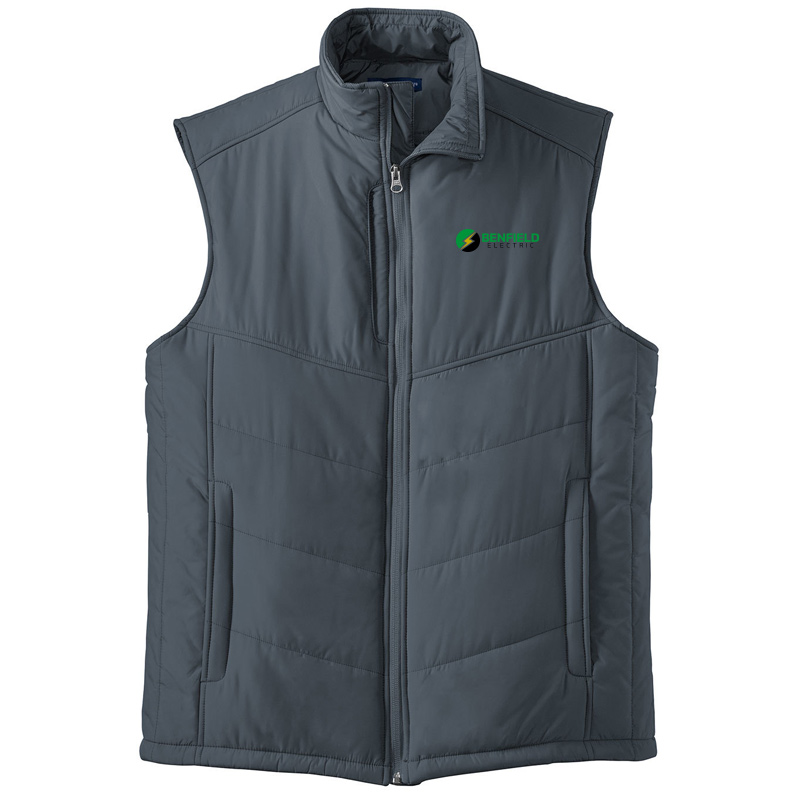 Benfield Electric Puffy Vest -Dark Slate