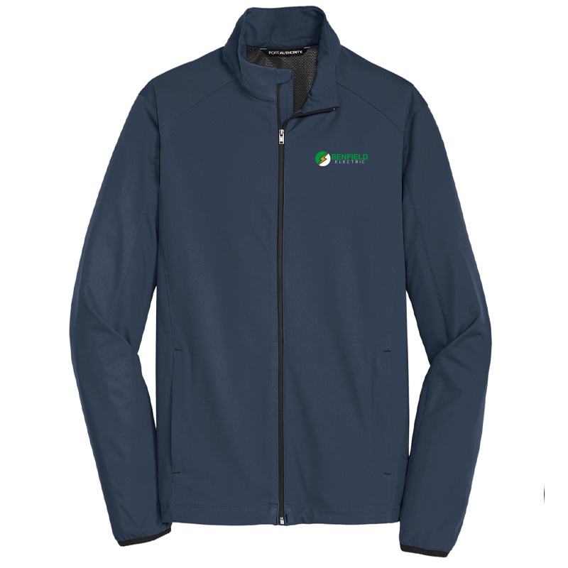 Benfield Electric Active Soft Shell Jacket -Dress Blue Navy