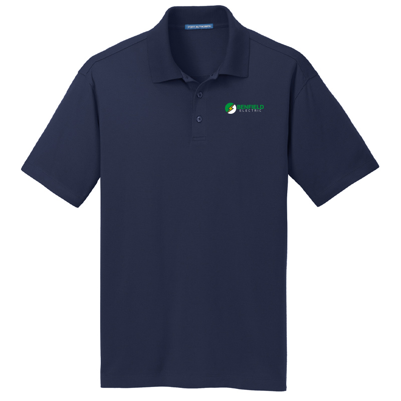 Benfield Electric Men's Port Authority Rapid Dry Mesh Polo -True Navy