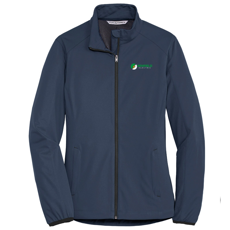 Benfield Electric Ladies Active Soft Shell Jacket -Dress Blue Navy
