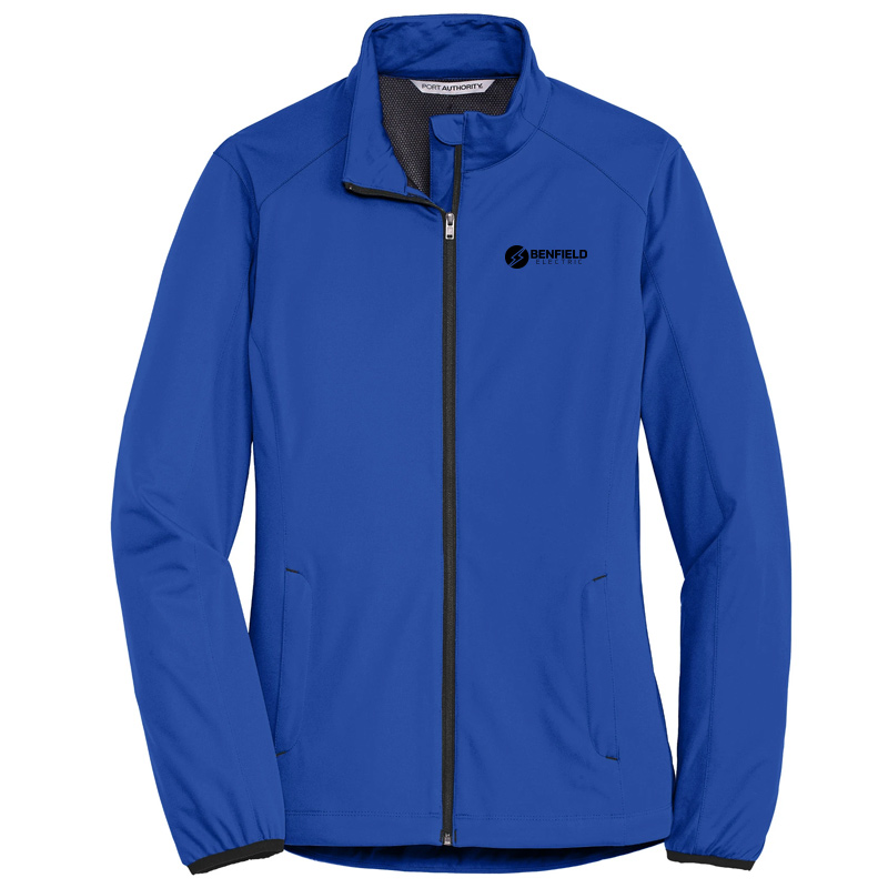 Benfield Electric Ladies Active Soft Shell Jacket -True Royal