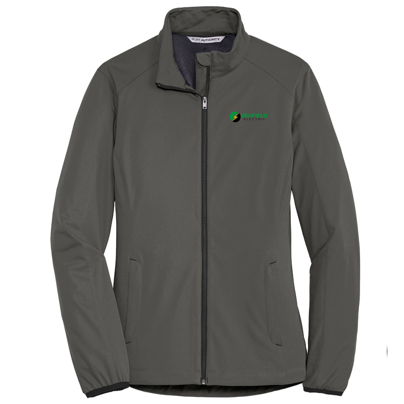 Benfield Electric Ladies Active Soft Shell Jacket -Grey Steel