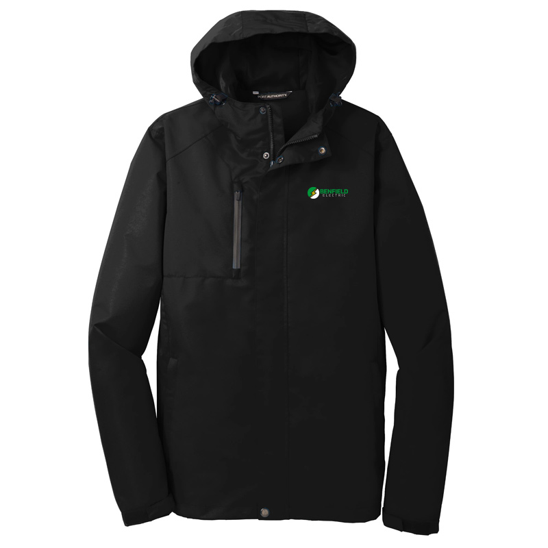 Benfield Electric Port Authority All-Conditions Jacket -Black