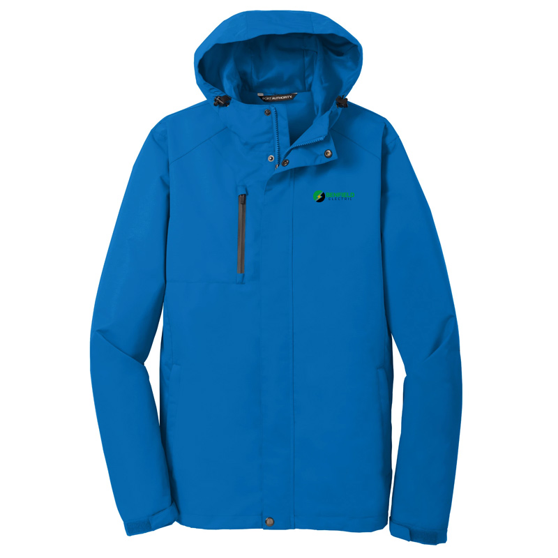 Benfield Electric Port Authority All-Conditions Jacket -Direct Blue