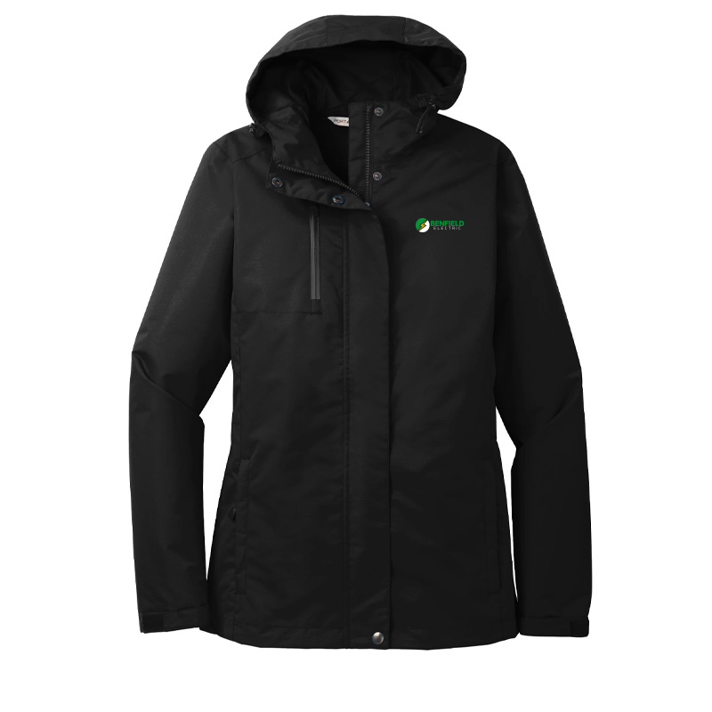 Benfield Electric Port Authority Ladies All-Conditions Jacket -Black