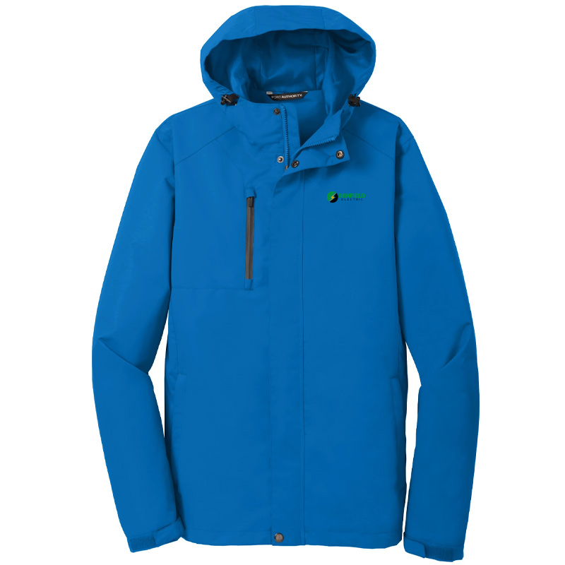 Benfield Electric Port Authority Ladies All-Conditions Jacket -Direct Blue