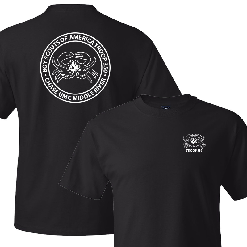 BSA 350 Short Sleeve T-Shirt - Black