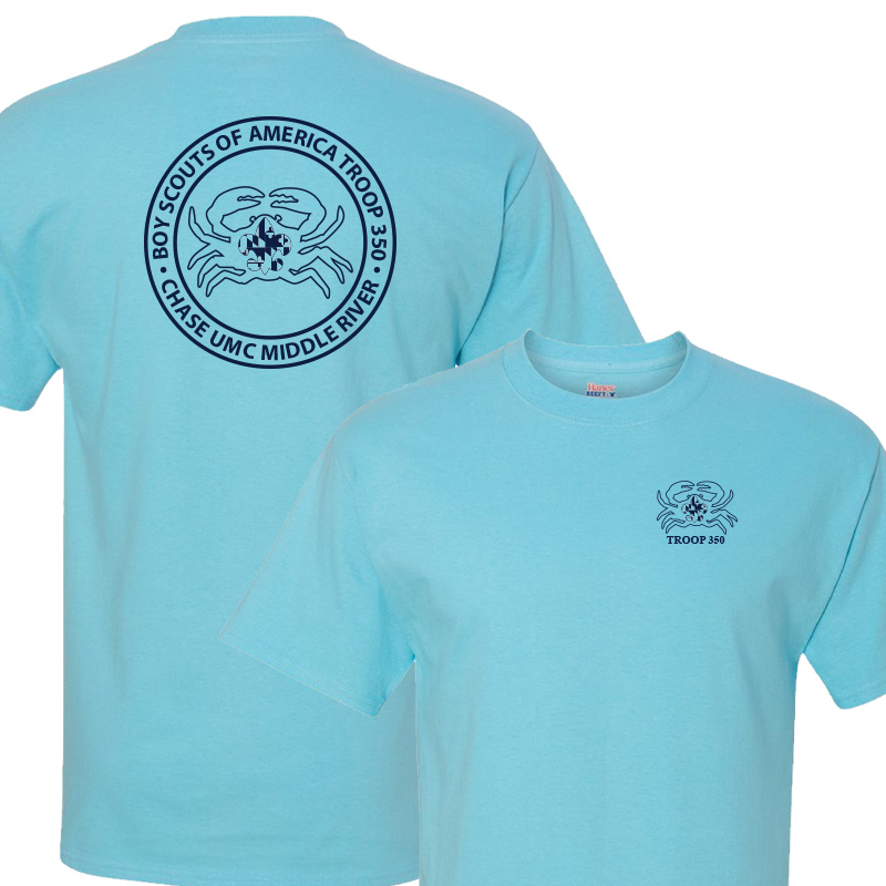 BSA 350 Short Sleeve T-Shirt - Blue Horizon