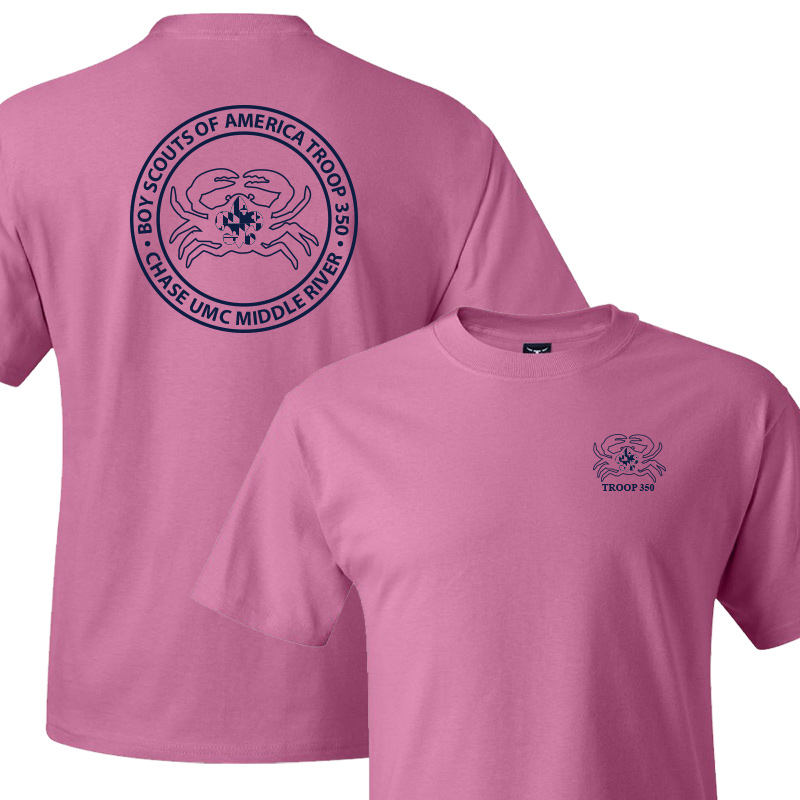 BSA 350 Short Sleeve T-Shirt - Pink