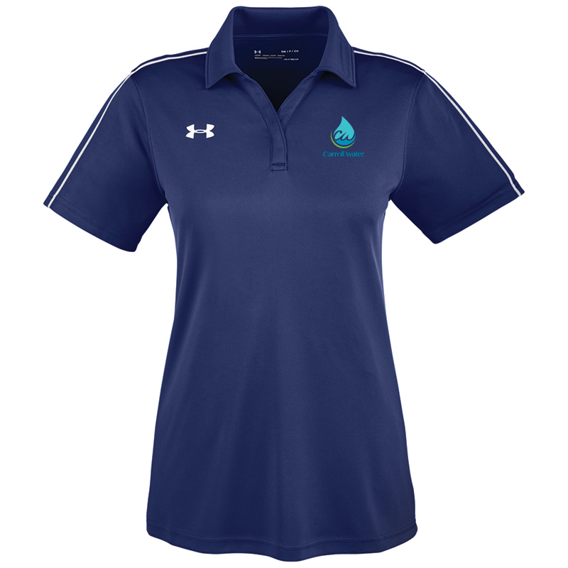 Carroll Water Under Armour Ladies' Tech Polo - Navy