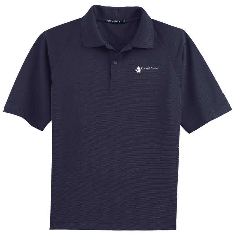 Carroll Water Dry Zone Ottoman Polo - Navy- White Logo