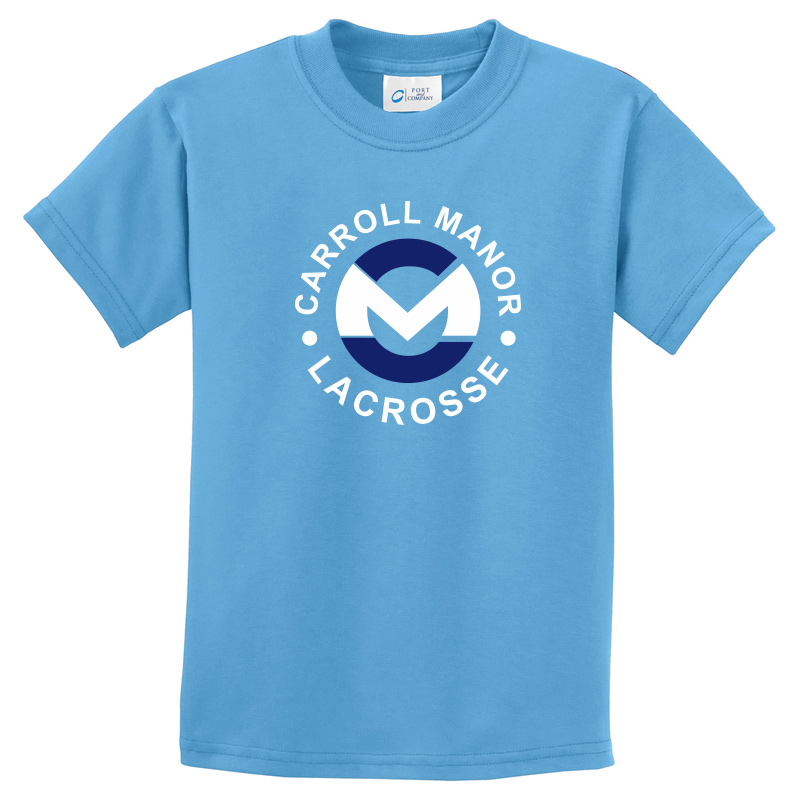 CMRC Lax  Essential Tee - Aquatic Blue